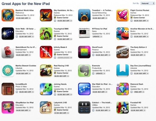 Screen Shot 2012 03 15 at 4.17.55 PM 520x405 Apple launches Great apps for the New iPad section stocked with 24 Retina ready choices