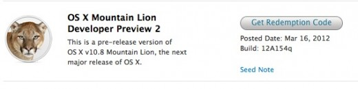 Screen Shot 2012 03 16 at 1.05.14 PM 520x130 Apple releases OS X 10.8 Mountain Lion Developer Preview 2, lists known issues