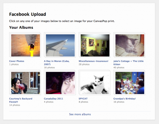 Screen Shot 6 520x405 CanvasPop lets you print your low res Facebook photos direct to large format canvas