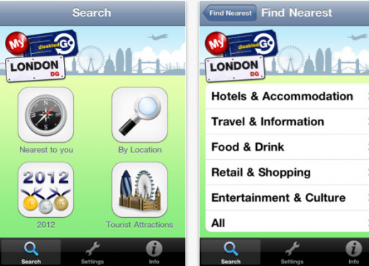 Screenshot 114 520x376 DisabledGo: This iPhone app gives you accessibility info for 20,000 venues across London