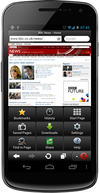 androi Opera debuts latest browser for Android, now boasts 160m monthly Opera Mini users