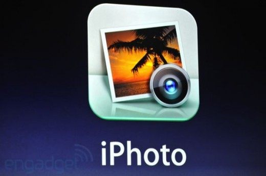 apple ipad 3 ipad hd liveblog 3057 520x345 Apple announces iPhoto for iOS at $4.99, adding new gestures, effects and multi touch editing