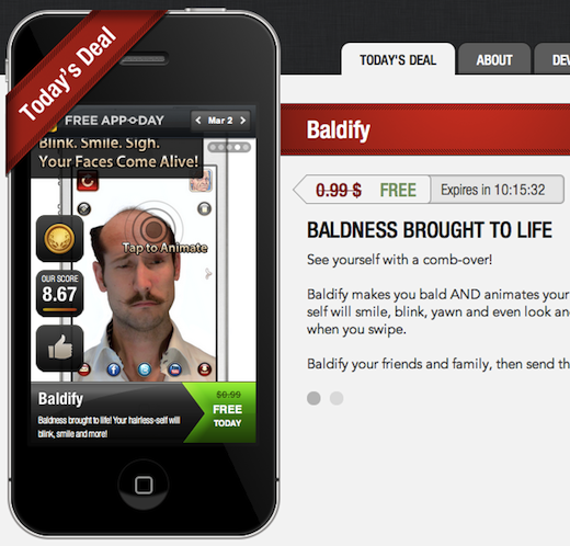 appoday Theres an app for deals: Iddiction launches App o Day, dubs it the Groupon for Apps