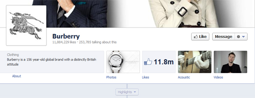 burberry Facebooks Timeline is coming for your Pages today, whether you like it or not. Are you ready?