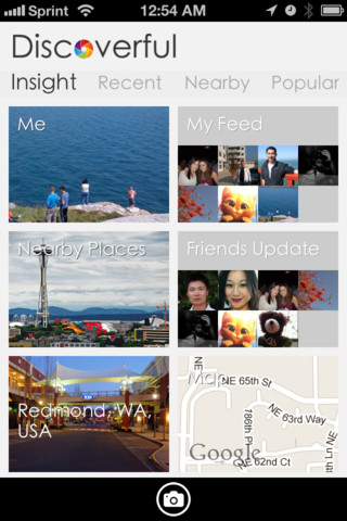 disc LOCQL abandons local Q&A idea in favor of visual discovery iPhone app Discoverful
