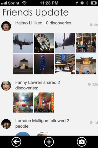 disc2 LOCQL abandons local Q&A idea in favor of visual discovery iPhone app Discoverful