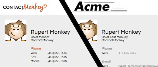 ContactMonkey makes sharing your contact information stupendously easy, raises $800,000