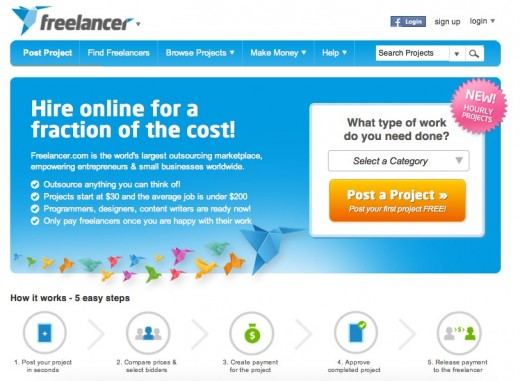 freelancer home page 520x381 Freelancer.com CEO Matt Barrie on how outsourcing creates entrepreneurs