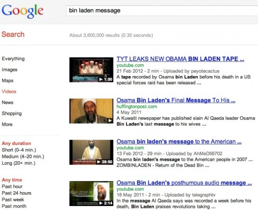 google video search 520x423 The Internet blame game has begun: France to punish extremist websites visitors?