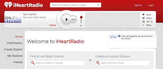 iHeartRadio 520x220 Any Spotify app developer can now tap The Echo Nests music intelligence technology
