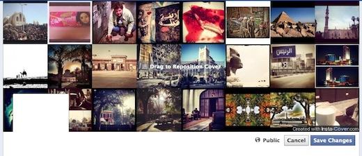 instacover Create an Instagram filled Facebook profile cover with InstaCover