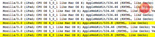 ipad logs 4f50f4e intro 520x124 Apple employees may already be using iPad 3s running iOS 6 to surf the web internally