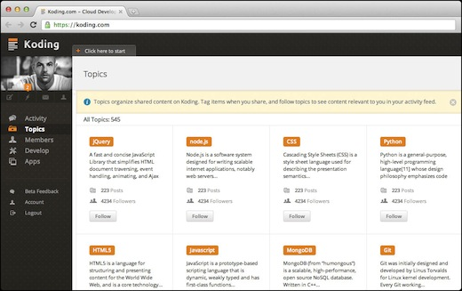 koding Koding scores $2m from RTP Ventures, Greycroft for cloud based development platform
