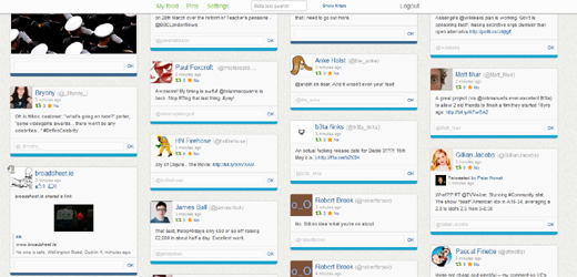 kulisha520 Meet Kulisha, the site that wants to pin your social feed