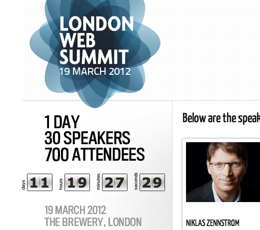 lws1 Who wants to meet up at the upcoming, inaugural London Web Summit?