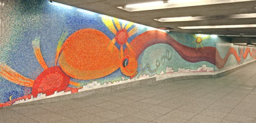 murray 520x249 NYC just built an app for finding art in its largest gallery: The subway system