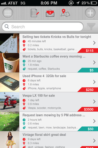 Grabio: Finally, location based mobile classifieds that are actually worth using