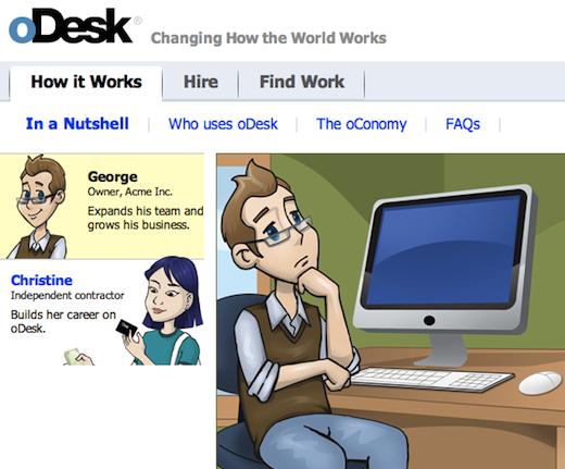 odesk Online work marketplace oDesk lands $15m, former Chegg exec as new CFO