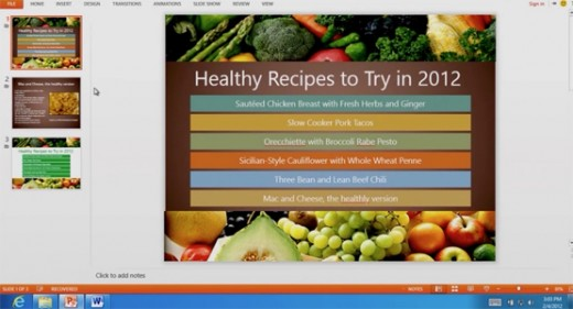 officefeat powerpoint555px 520x281 Office 15 embraces Metro, looks beautiful & packs brand new features