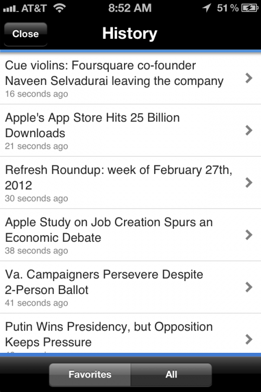 photo 22 520x780 Snackr for iOS saves time by reading your news out loud to you