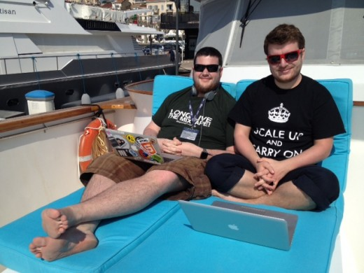 photo4 520x390 The boat that hacked TV: Where better to build innovative new apps than on a yacht?