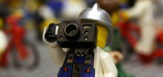 photographer lego