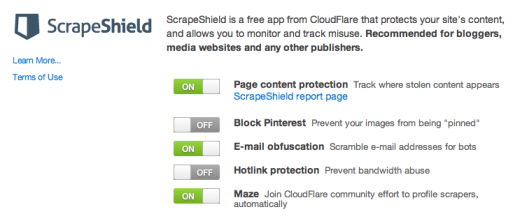 scrape shield 520x221 ScrapeShield from CloudFlare: A one click solution to end website content scraping