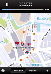 streetstories The Guardian uncovers London street stories with a beautiful geolocation and audio app