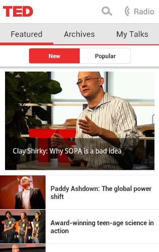 teda TED   finally   releases official Android app, offers 1,200+ amazing talks free of charge