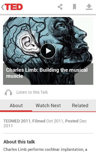 teda2 TED   finally   releases official Android app, offers 1,200+ amazing talks free of charge