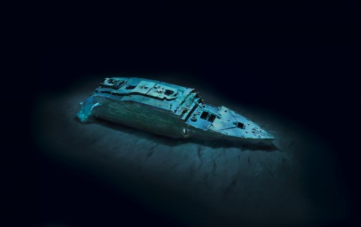 titanic MM7985 rmst 3D 004 520x328 Check out these never before seen, stunning images of the Titanic