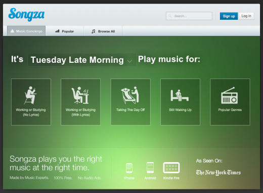 tuesday morning 520x381 Spotify, we need a break. Im falling for Songza