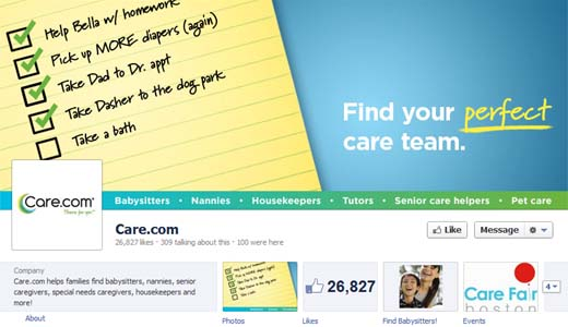 Carefb520 American site for finding nannies and carers, Care.com expands into the UK