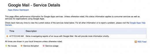 Convo 1 1 520x189 Google confirms that there is an issue with Google Mail, will provide more info shortly