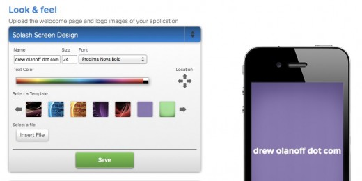 Create an App UppSite 1 520x260 With Uppsite you can turn your site into a multi platform app within minutes