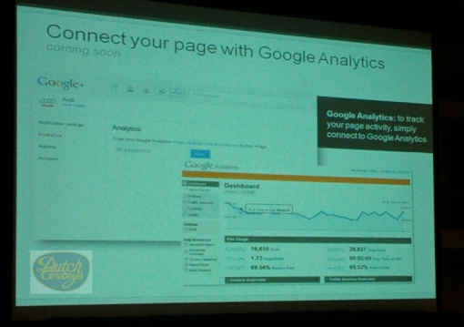 DCGAGP Google Analytics may soon be used to measure Google+ Pages
