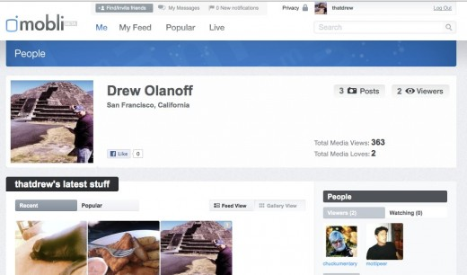 Drew Olanoff thatdrew 520x306 Mobli announces its 2M user milestone, launches Facebook Timeline integration