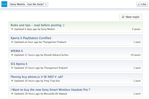 List Get a discussion forum up and running on your Facebook page in minutes with this app
