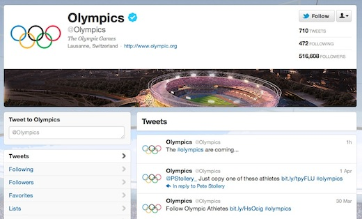 Olympics Twitter Alex Huot: London 2012 will be the first Social Media Olympics