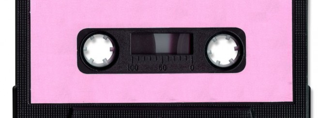 Cassette Tape with clipping path