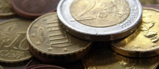 Money – Euro coins Euros