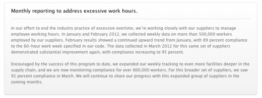 Screen Shot 2012 04 18 at 07.39.16 520x195 Apple reaches 95% compliance in Asia over excessive working hours, expands monitoring to 800,000 workers