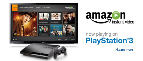 amazon instant video free trial ps3
