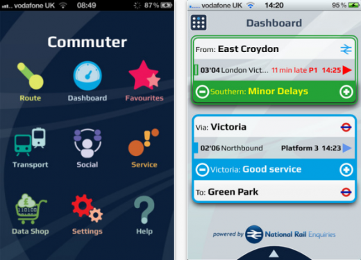 a1 520x375 Commuter: A step closer towards the ultimate UK public transport app