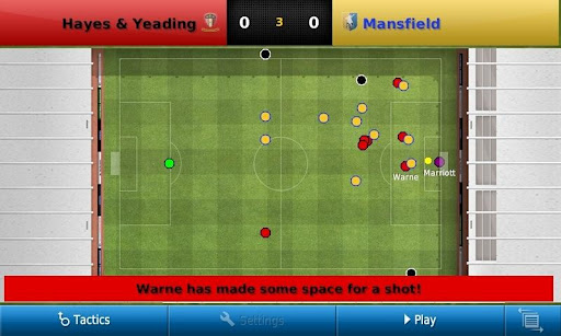 a2 Football Manager Handheld is available for Android smartphones now