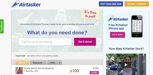 airtasker 520x256 Australian startup incentivizing chores grabs $1.5M funding 2 months after launch