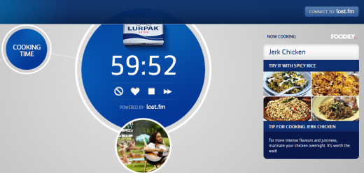 b8 520x248 FoodBeats: Lurpak taps Last.fm to bring you playlists based on what youre cooking
