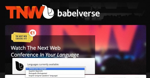 babelverse tnw 520x271 Babelverse powers real time voice translation of TNW Conference for Latin America