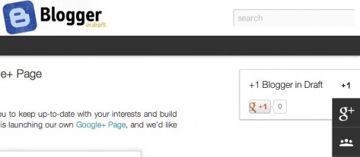 bid 520x227 Google brings Google+ to Blogger users with two new social gadgets