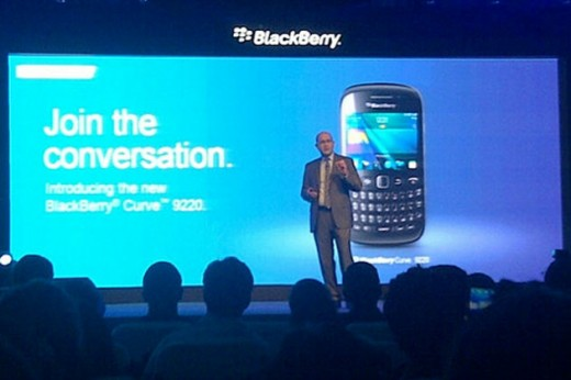 blackberry curve 9220 180412 520x346 RIM focuses on developing markets with the new $215 BlackBerry Curve 9220